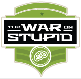 war on stupid logo